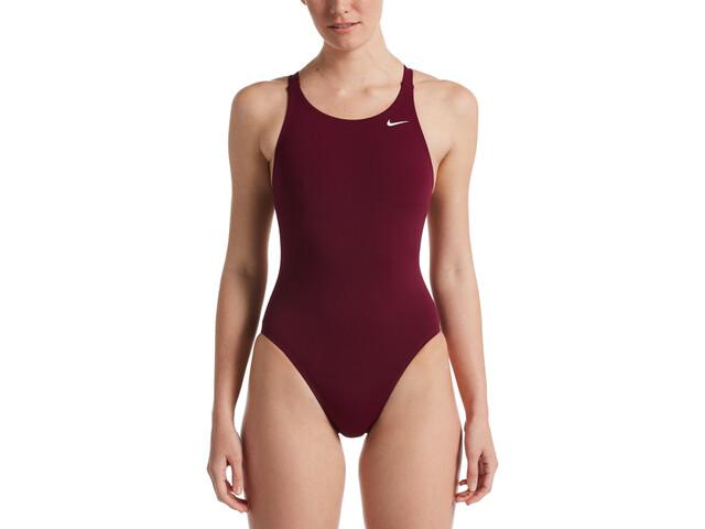 Nike Swim Hydrastrong Solids Maillot de bain une pièce Femme, villain red